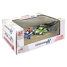 Super Mario Pull Back Race Car Set, 2dlg