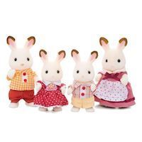 Sylvanian Families - Chocolate Rabbit Familiy
