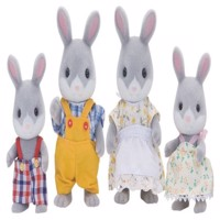 Sylvanian Families - Cottontail Rabbit Family