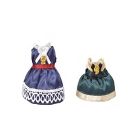Sylvanian Families - Town Girl - Dress up Set (Blue & Green)