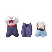 Sylvanian Families - Town Girl - Dress up Set (Navy & Light Blue)