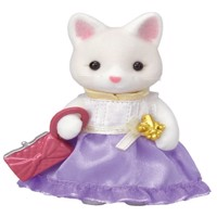 Sylvanian Families - Town Girl - Silk Cat