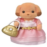 Sylvanian Families - Town Girl - Toy Poodle