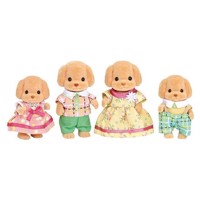 Sylvanian Families - Toy Poodle Family