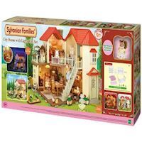 Sylvanian Families  City House with Lights, figures and furniture 3646