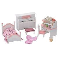 Sylvanian Families  Girls Room Set