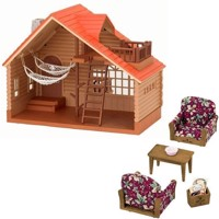 Sylvanian Families  Tree House Giftset with furnitures