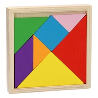 Tangram Puzzle Wood 7Pcs