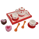 Tea service Hearts  Dot