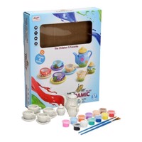 Tea set Ceramic Paints, 17 pcs