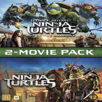 Teenage mutant ninja turtles 1-2 DVD