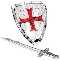 Temple knight sword sheild