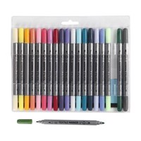 Textile Pens  Extra Colors, 20pcs