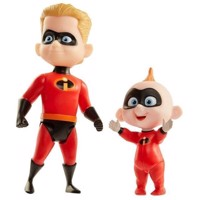 The Incredibles 2 - Dash & Jack-Jack  Figures