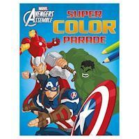 The Avengers Super Color Parade, malebog