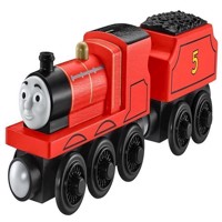Thomas  Friends  Large Wooden Engines  James (GGG62)