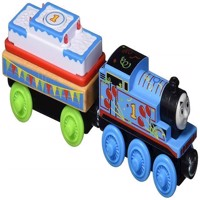 Thomas  Friends  Large Wooden Engines  Thomas Birthday (GGG69)
