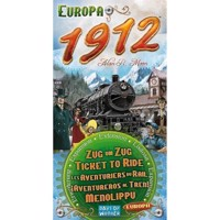 Ticket To Ride Europe 1912 Expansion Pack