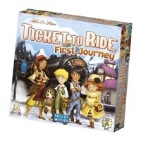 Ticket to Ride First Journey Nordic