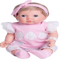 Tiny Treasure - Blonde Doll with Pink Clothes