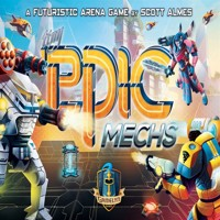 Tiny epic mechs boardgame english