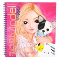 Top Model - Create Your Doggy Colouring Book