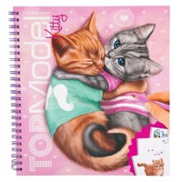 Top Model - Create Your Top Model Kitty Coloring Book