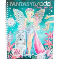 Top Model - Fantasy - Dress Me Up Sticker Book