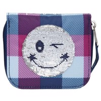 TOPModel - Wallet w. Smiley Sequins - Blue