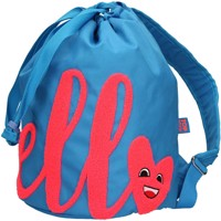 Top Model Backpack Hello Azur Blue