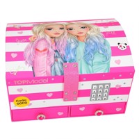 Top Model - Big Jewellery Box With Code And Sound - Pink (410543)