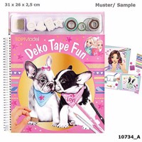 Top model deko fun colouring book dog