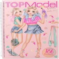 Top Model  Dress Me Up Sticker Book  Tropical