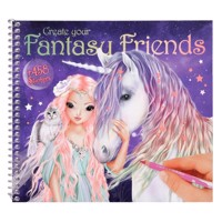 Topmodel fantasy friend designbook stickers