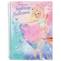 Top Model - Fantasy Model Colouring Book - Ballet