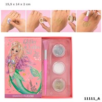 Top Model - Fantasy Model - Glitter Tattoo Set - Mermaid (411111)