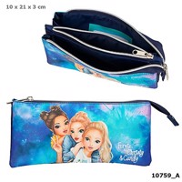 Top model pencilcase aqua blue