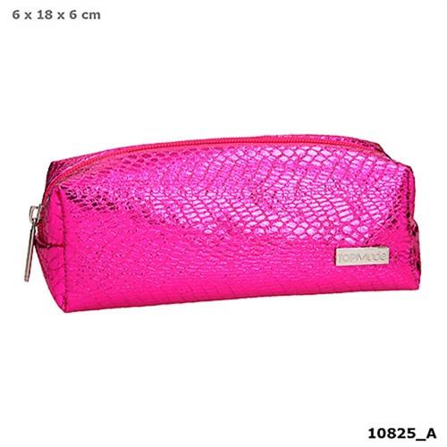 Topmodel Pencil Case Snakeskin Look Pink