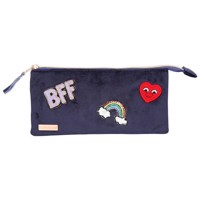 Top Model  Pencil Case  Velvet  Navy 0010182