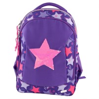 Top Model - School Backpack Rev. Sequins - Star (410678)