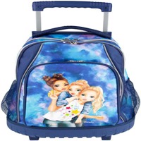 Top model school backpack trolley
