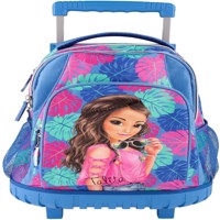 Top Model School Backpack W Trolley Tropical