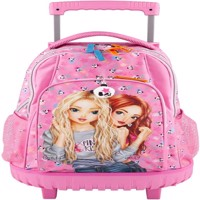 Topmodel School Backpack W Trolly Panda