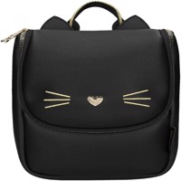 Top model small backpack cat black