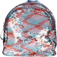 Top model small backpack w sequins multicolour