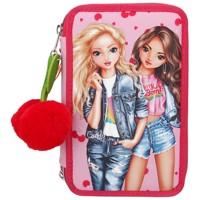 Top Model - Triple Pencil Case - Cherry Bomb