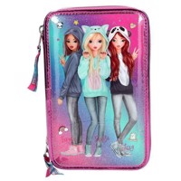 Top Model  Trippel Pencil Case Friends  Pink 0410148