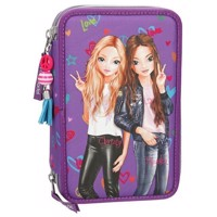 Top Model  Trippel Pencil Case  Purple 0410073