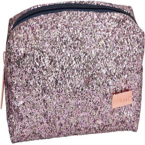Top Model Tube Pencil Case with Glitter Pink 0410234