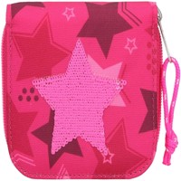 Topmodel wallet w sequin star pink